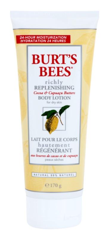 Burt's Bees Cocoa & Cupuacu Butters lotiune de corp pentru ingrijire intensiva