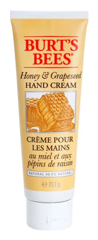 Burt's Bees Honey & Grapeseed crema per le mani per pelli secche e screpolate