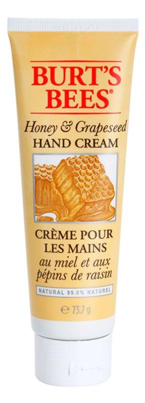 Burt's Bees Honey & Grapeseed krém na ruce pro suchou a popraskanou pokožku