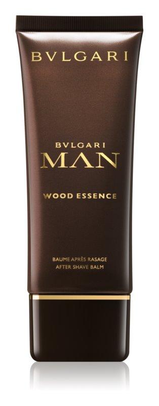 Bvlgari Man Wood Essence Aftershave Balsem  voor Mannen 100 ml