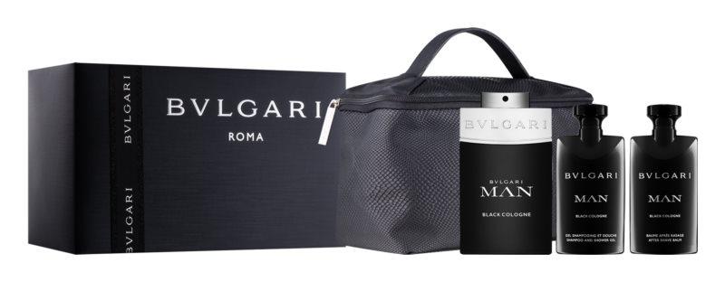 Bvlgari Man Black Cologne Gift Set  I.