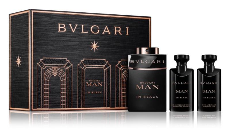Bvlgari Man In Black set cadou III