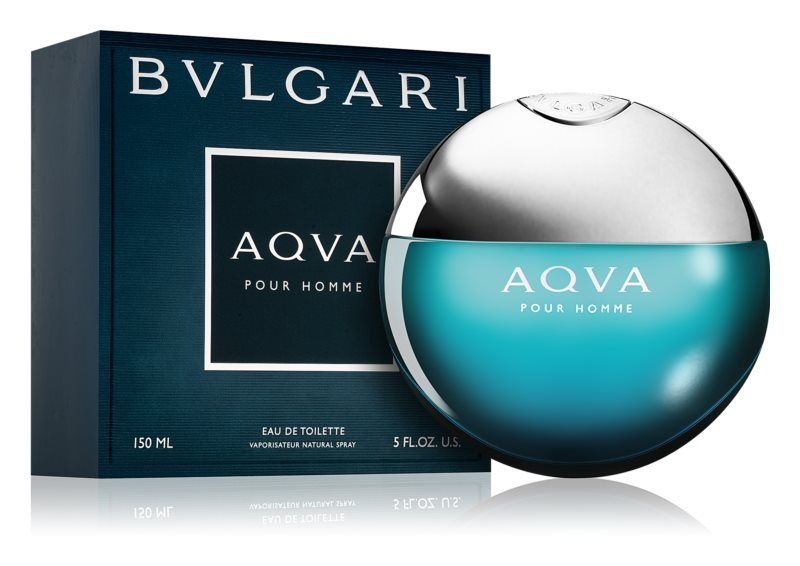 Bvlgari AQVA Pour Homme Eau de Toilette for Men 150 ml