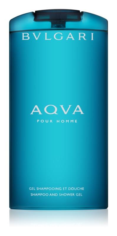 Bvlgari AQVA Pour Homme sprchový gél pre mužov 200 ml