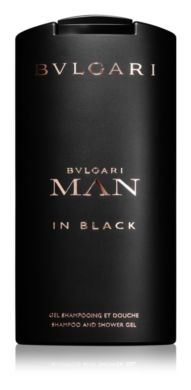 Bvlgari Man In Black gel de dus pentru barbati 200 ml