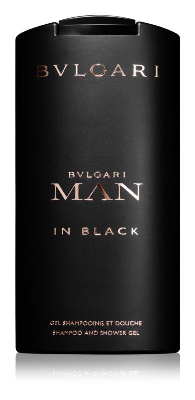 Bvlgari Man In Black gel doccia per uomo 200 ml
