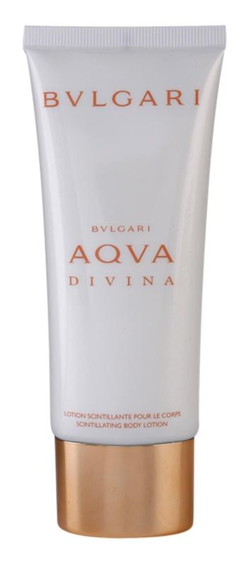 Bvlgari AQVA Divina telové mlieko pre ženy 100 ml