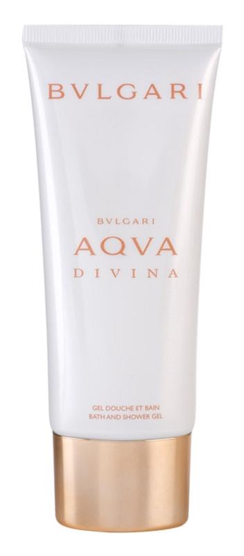 Bvlgari AQVA Divina gel de duche para mulheres 100 ml