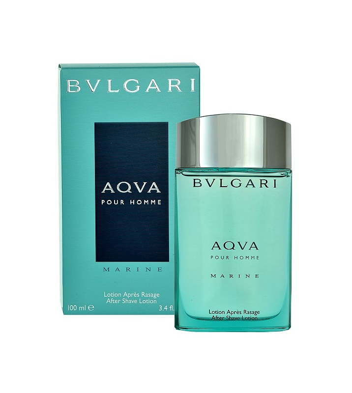 Bvlgari AQVA Marine Pour Homme After Shave Lotion for Men 100 ml