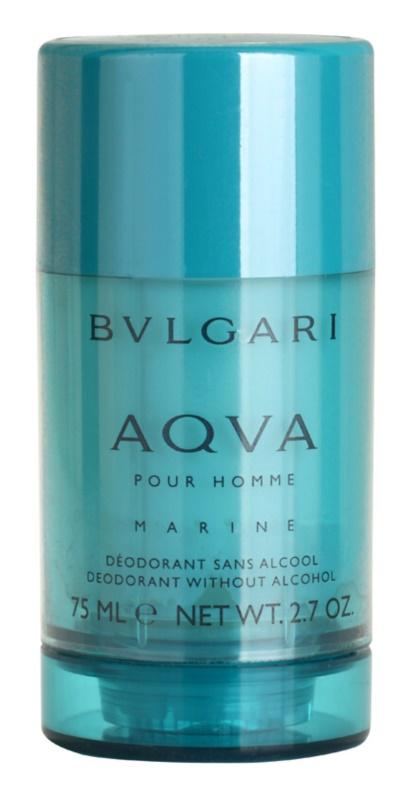 Bvlgari AQVA Marine Pour Homme Deodorant Stick for Men 75 ml