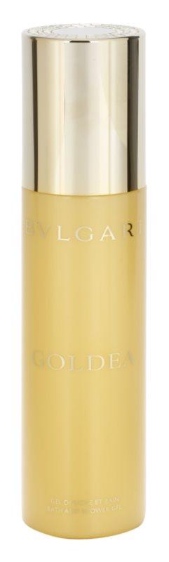 Bvlgari Goldea żel pod prysznic dla kobiet 200 ml