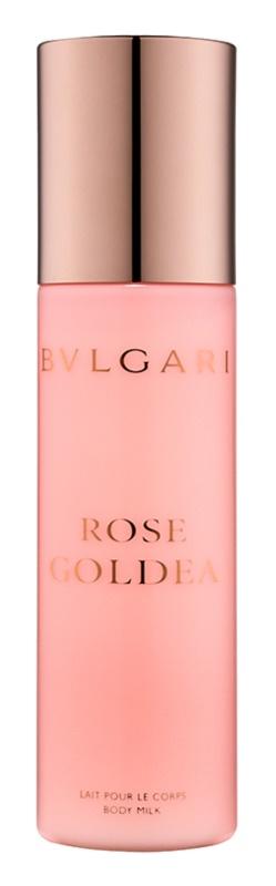 Bvlgari Rose Goldea leite corporal para mulheres 200 ml
