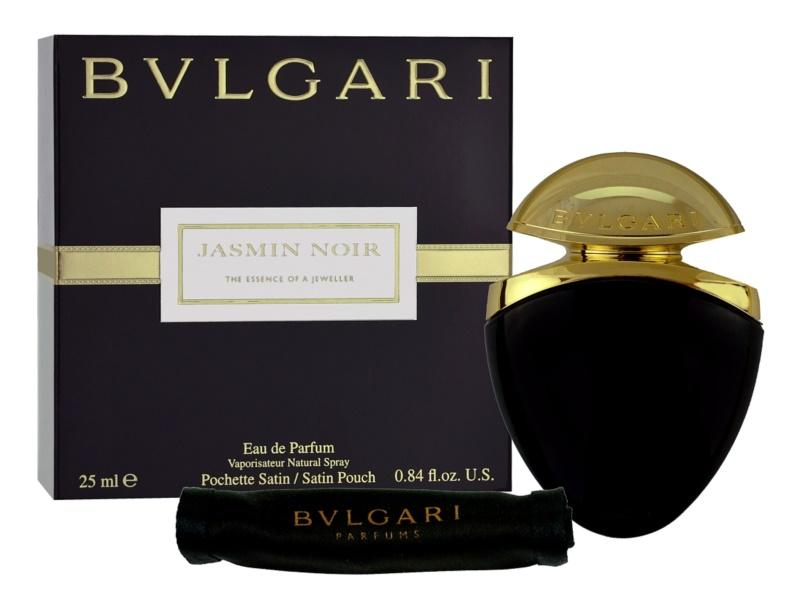 Bvlgari Jasmin Noir eau de parfum pentru femei 25 ml + husă de satin