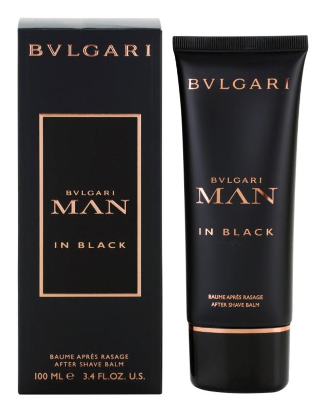 Bvlgari Man In Black balzám po holení pro muže 100 ml