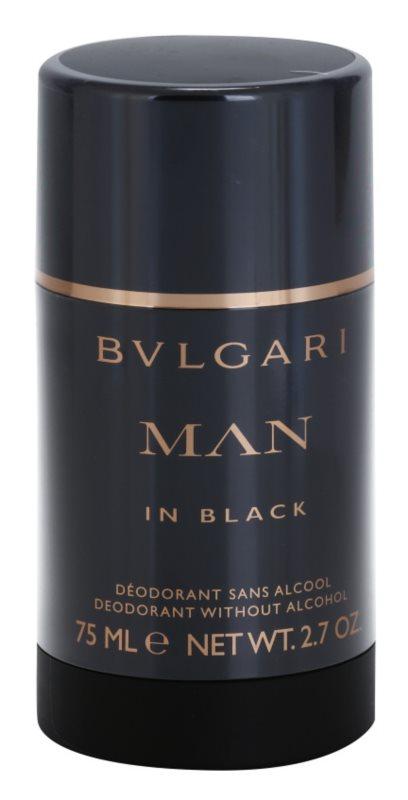 Bvlgari Man In Black deodorante stick per uomo 75 ml