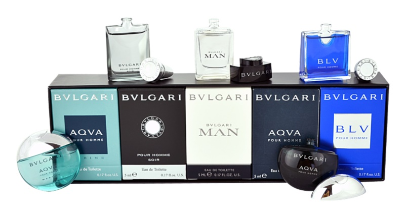 Bvlgari The Miniature Collection Gift Set I.