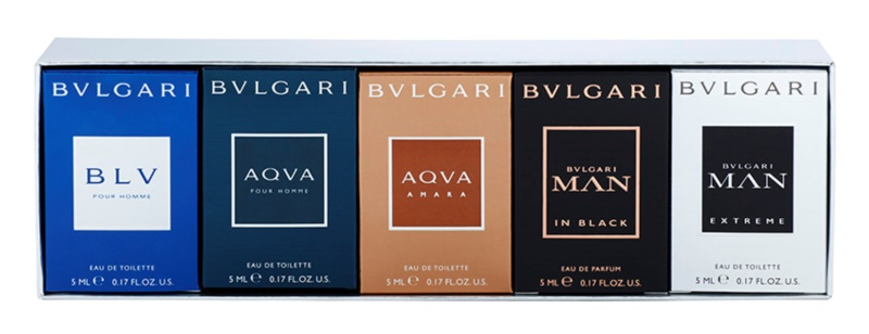 Bvlgari The Miniature Collection confezione regalo IV.