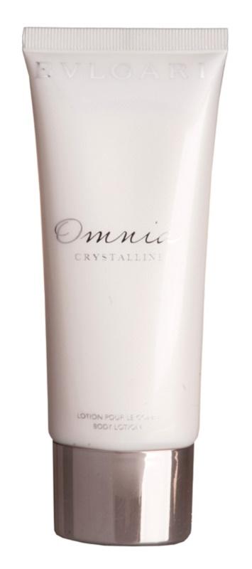 Bvlgari Omnia Crystalline telové mlieko pre ženy 100 ml