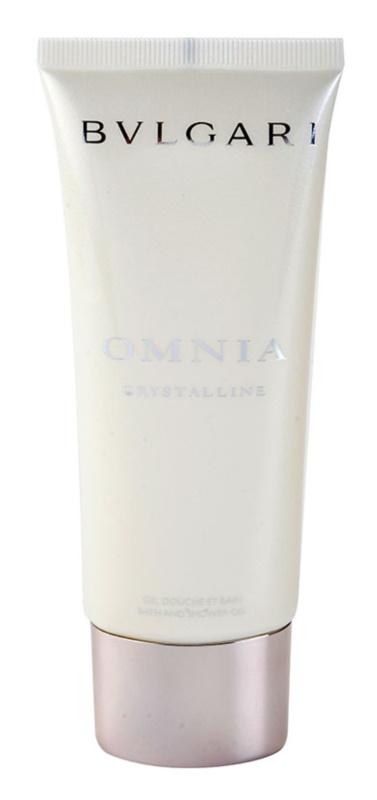 Bvlgari Omnia Crystalline gel doccia per donna 100 ml
