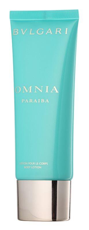 Bvlgari Omnia Paraiba leite corporal para mulheres 100 ml