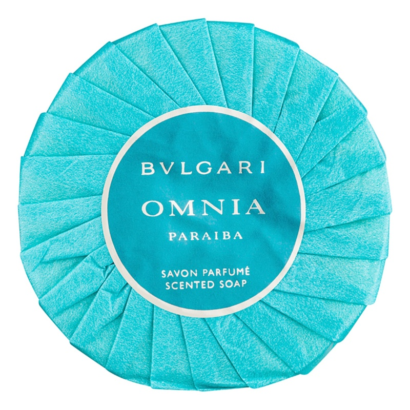Bvlgari Omnia Paraiba mydło perfumowane dla kobiet 150 g