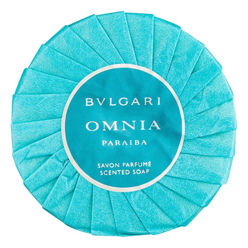 Bvlgari Omnia Paraiba parfémované mydlo pre ženy 150 g