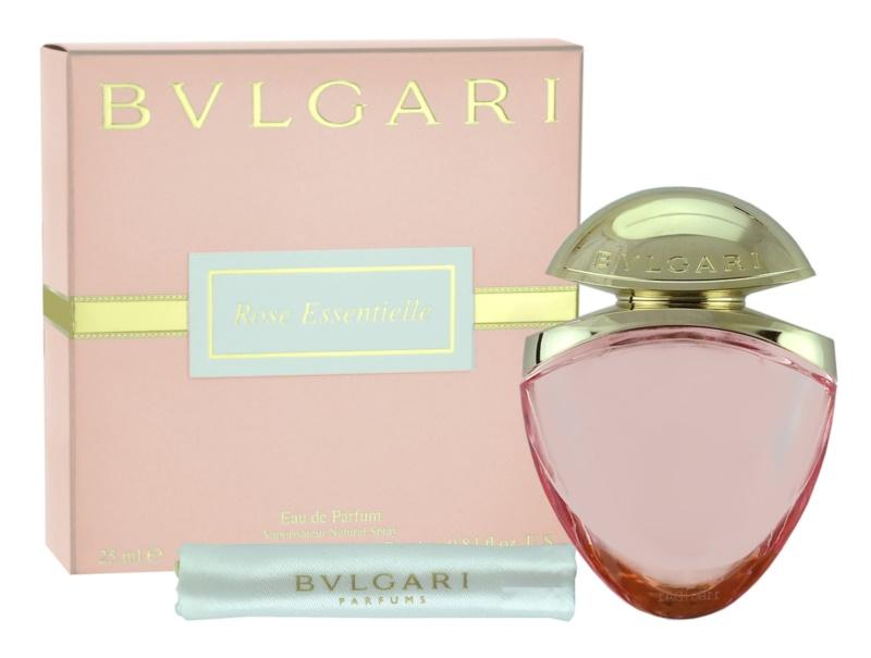 Bvlgari Rose Essentielle eau de parfum pentru femei 25 ml + husă de satin