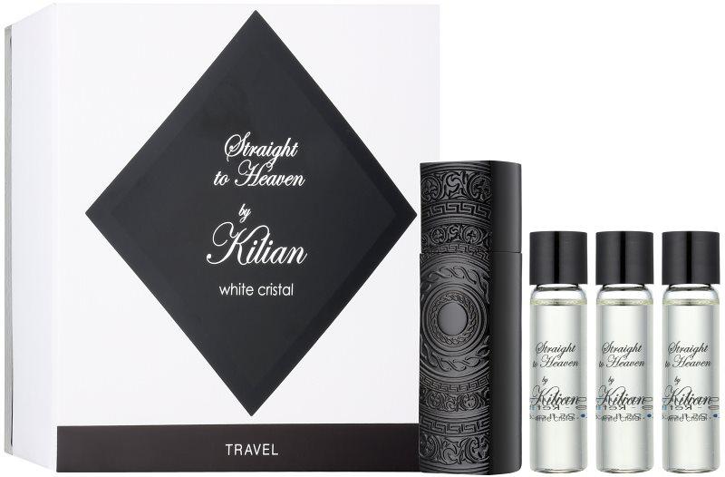 By Kilian Straight To Heaven, white cristal parfémovaná voda pro muže 4 x 7,5 ml (1x plnitelná + 3x náplň)
