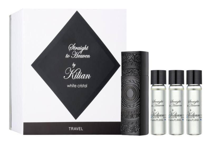 By Kilian Straight To Heaven, white cristal Parfumovaná voda pre mužov 4 x 7,5 ml (1x plnitelná + 3x náplň)