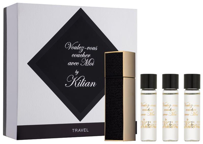 By Kilian Voulez-Vous Coucher Avec Moi eau de parfum unisex 4 x 7,5 ml (1x utántölthető + 3x utántöltő)