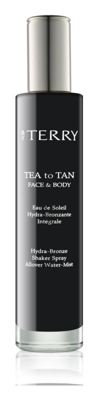 By Terry Tea to Tan ενυδατικό σπρέι μπρονζερ Για  πρόσωπο και σώμα