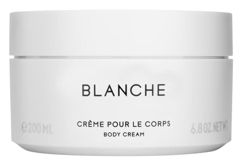 Byredo Blanche crème corps pour femme 200 ml