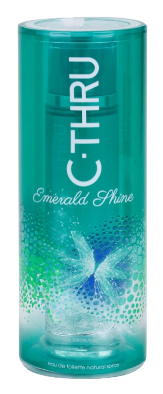 C-THRU Emerald Shine Eau de Toilette for Women 50 ml