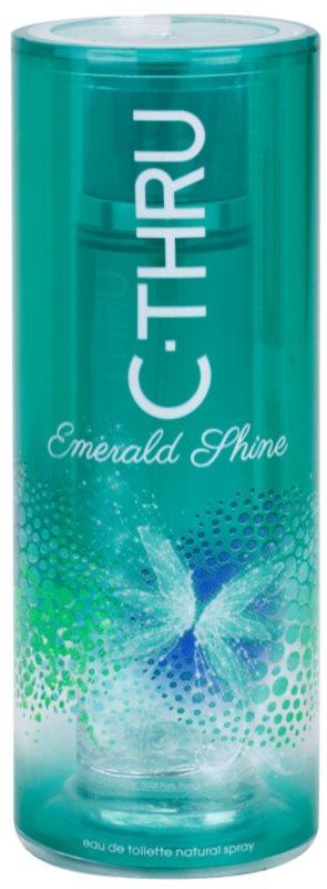 C-THRU Emerald Shine eau de toilette pour femme 50 ml