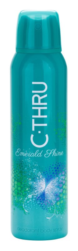 C-THRU Emerald Shine déo-spray pour femme 150 ml