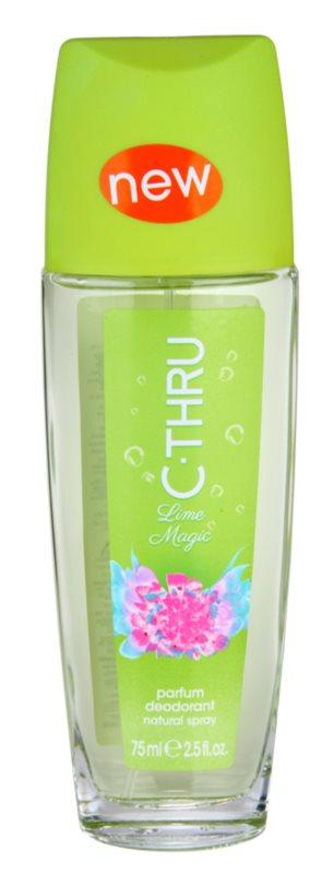 C-THRU Lime Magic déodorant avec vaporisateur pour femme 75 ml