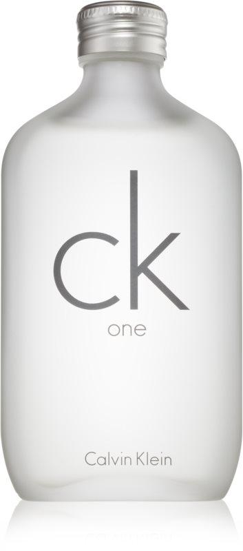Calvin Klein CK One Eau de Toilette unissexo 200 ml