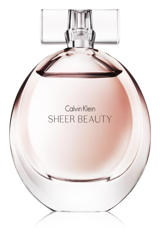 Calvin Klein Sheer Beauty Eau de Toilette para mulheres 100 ml