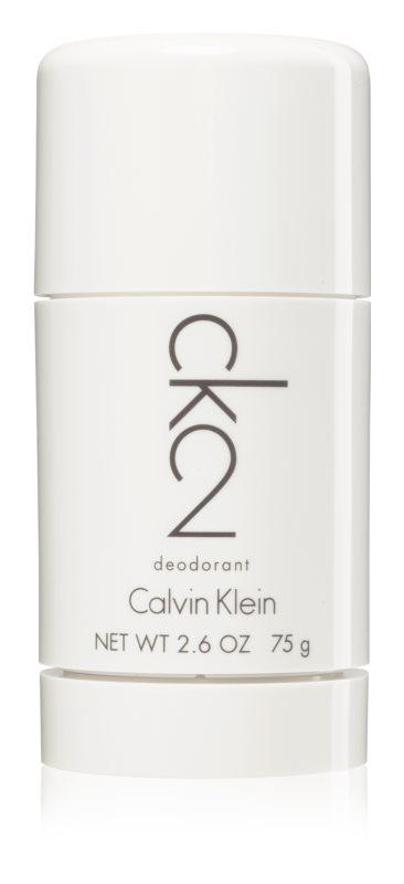 Calvin Klein CK2 dédorant stick mixte 75 g