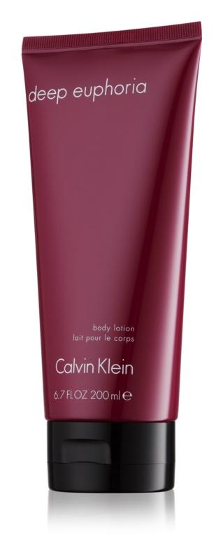 Calvin Klein Deep Euphoria lapte de corp pentru femei 200 ml