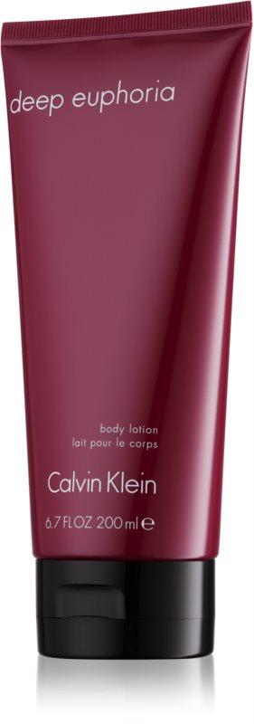 Calvin Klein Deep Euphoria tělové mléko pro ženy 200 ml