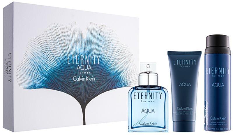 Calvin Klein Eternity Aqua for Men ajándékszett IX.