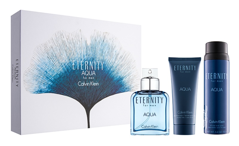 Calvin Klein Eternity Aqua for Men coffret IX.