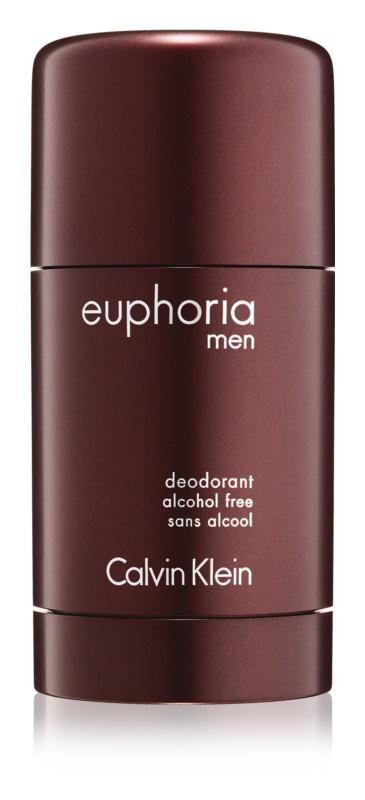 Calvin Klein Euphoria Men dezodorant w sztyfcie dla mężczyzn 75 ml (bez alkoholu)    bez alkoholu