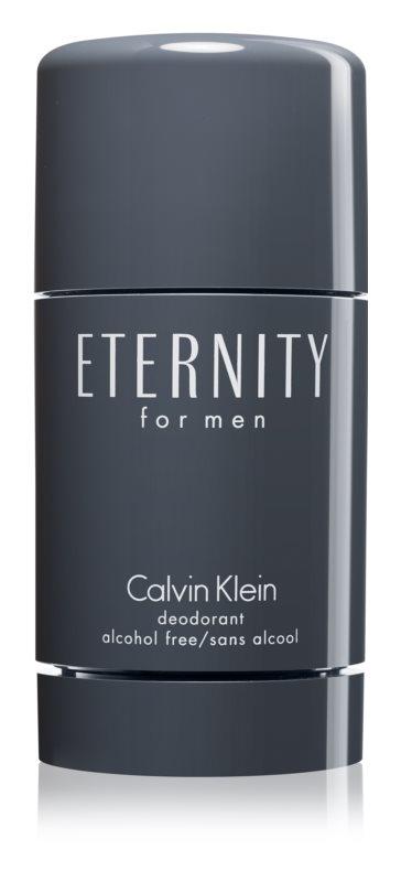 Calvin Klein Eternity for Men desodorizante em stick para homens 75 ml (sem álcool)