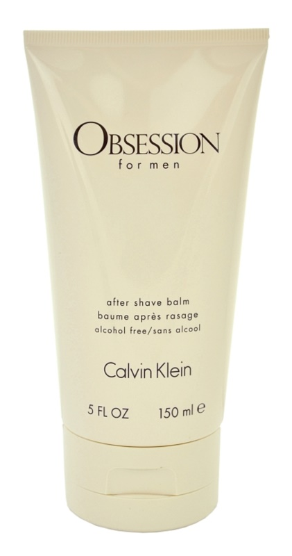 Calvin Klein Obsession for Men balzám po holení pre mužov 150 ml