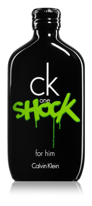 Calvin Klein CK One Shock eau de toilette férfiaknak 100 ml