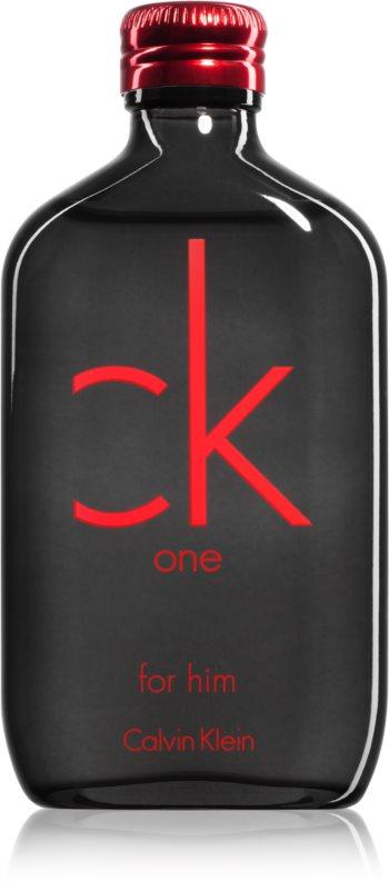 Calvin Klein CK One Red Edition Eau de Toilette for Men 100 ml