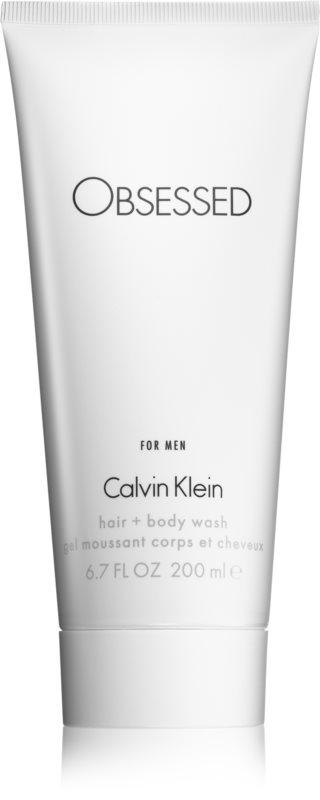 Calvin Klein Obsessed gel de duche para homens 200 ml
