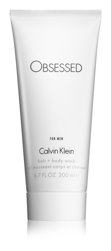 Calvin Klein Obsessed gel douche pour homme 200 ml